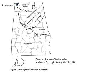 alabama geologic provinces