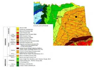 tx geologic map